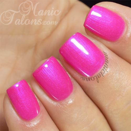 Pink Gellac Extreme Pink Swatch