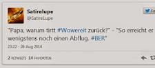 """""""Der Lieblings-Flughafenverhinderer"""" - die besten Wowereit-Tweets"""
