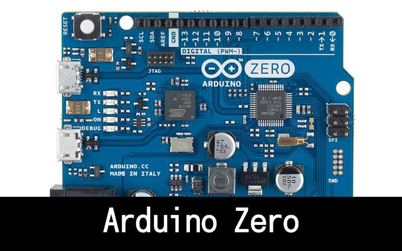 Arduino Zero:マイクロUSBポートがもうひとつ追加されたシリーズ