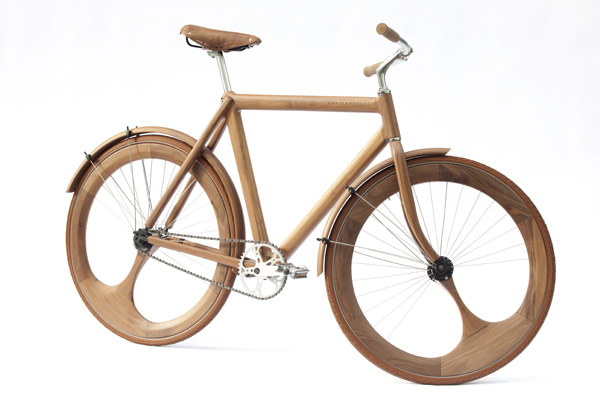 This 95 Wooden Design Moves Things On Up To An Impressive Style As Everything From The Handle Bars Wheels Is All Made Timber By Jan Gunneweg