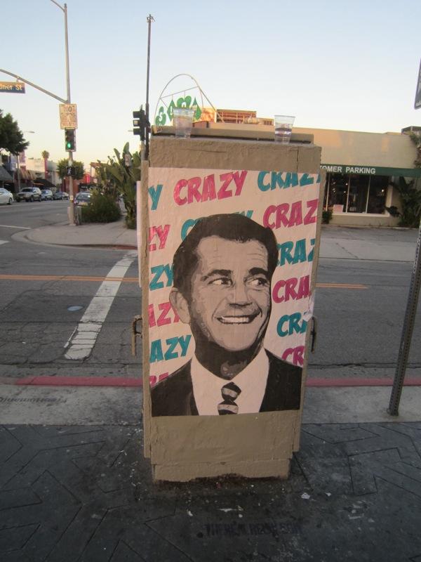 mel gibson crazy eyes. Mel Gibson is Crazy