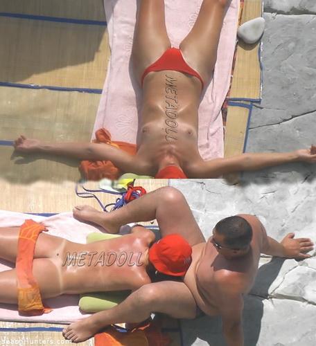 BeachHunters Sex 16739-16775 (Amateur Sex on a Nudist Beach)