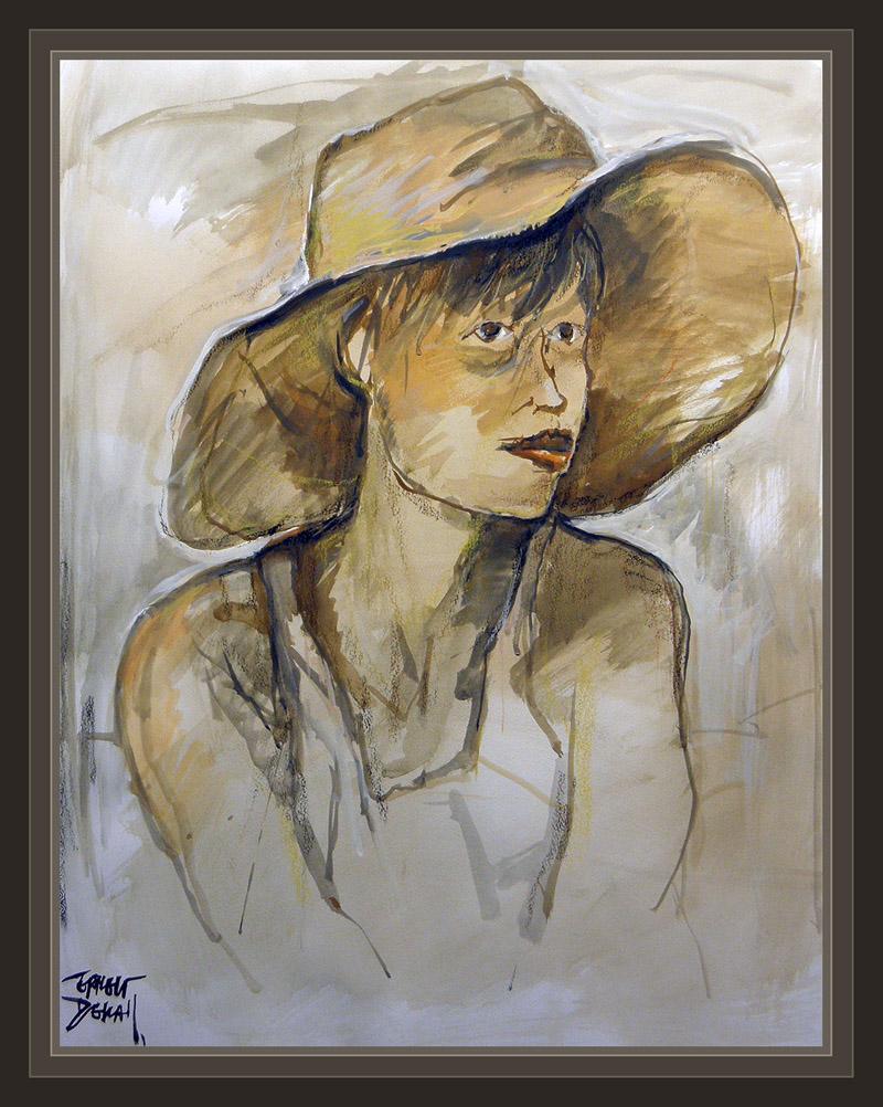 ernest descals artista pintor  mujeres