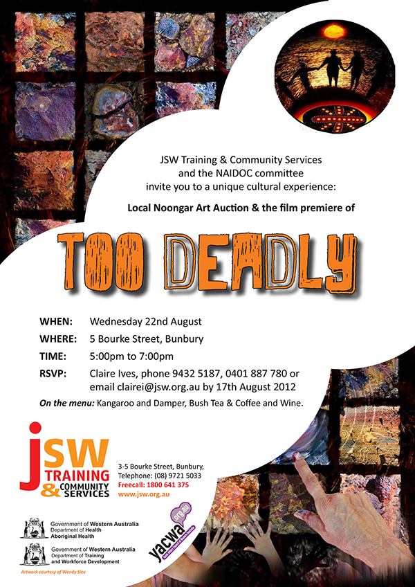 jsw and community services august 2012