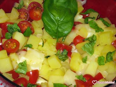 Dorka krumpli salátája