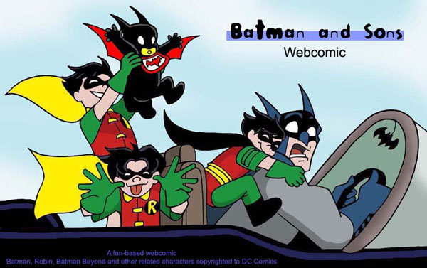 Batman and Sons Webcomic