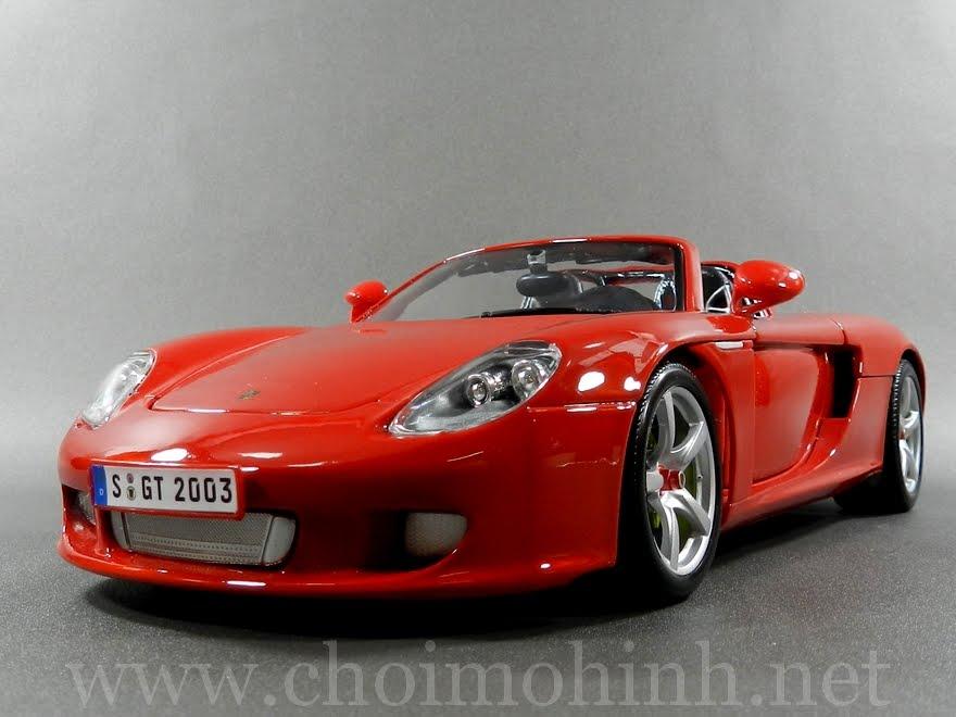 Porsche Carrera GT 1:18 Maisto