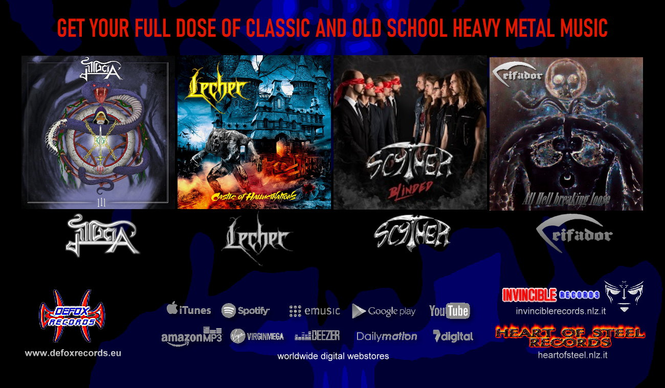 Get a full dose of Classic Metal