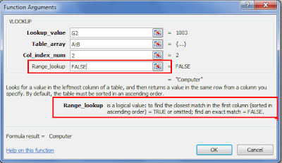 Excel lookup function tutorial
