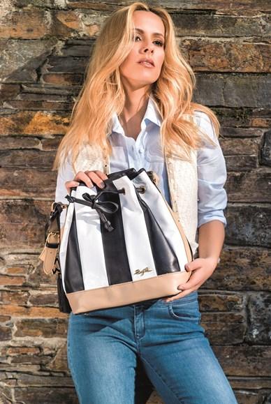 Malas Rufel malas com aplicações, em camurça, com franjas, mochilas, malas buquê , mini-bags e