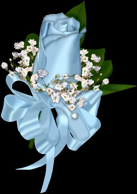 forgetmenot blue roses