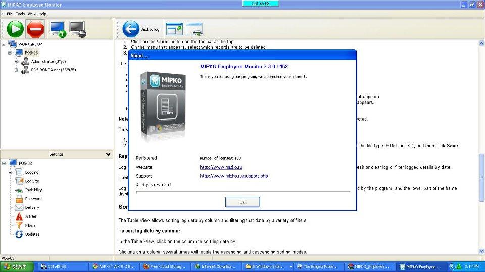 Refog Employee Monitor 7.3 Full Crack [Mediafire
