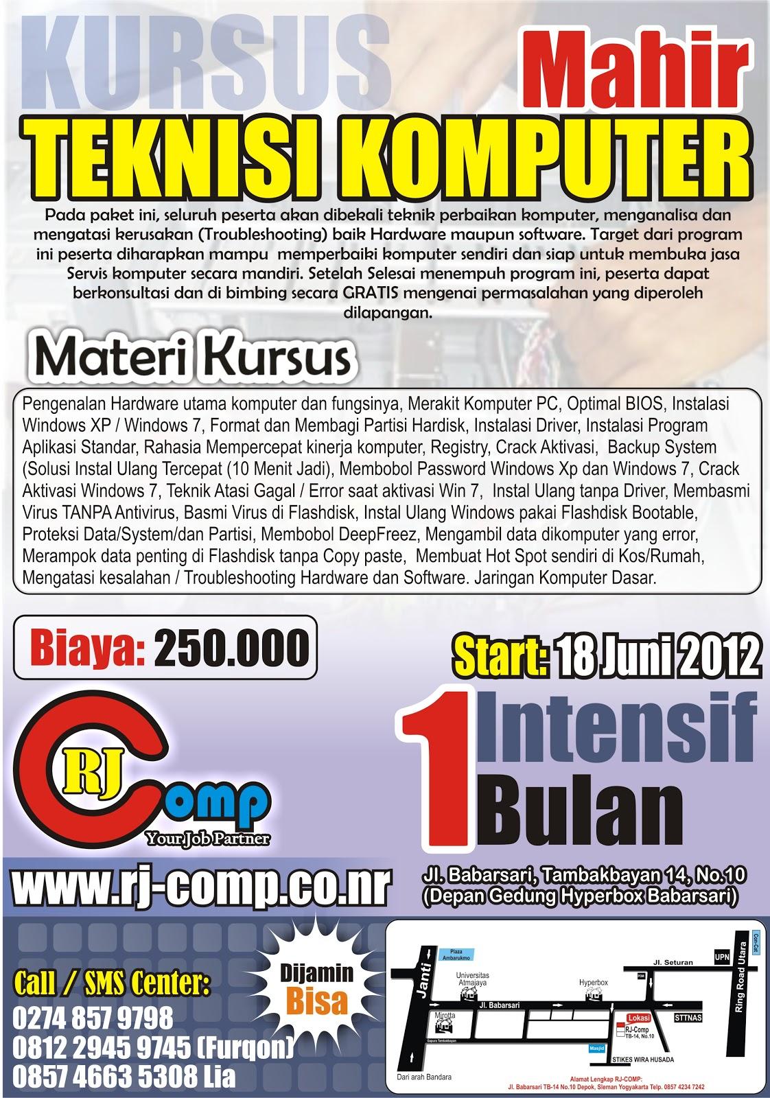 Privat Komputer di Yogyakarta | Kursus Komputer di Jogja ...