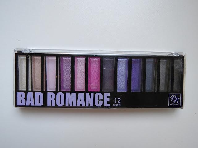 paleta bad romance resenha