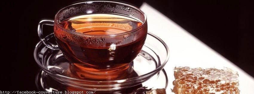 Couverture facebook une tasse de thé