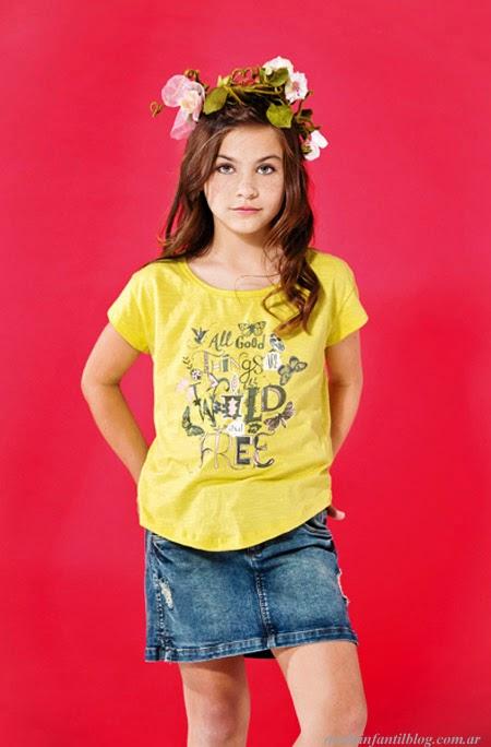 ropa de moda para niñas primavera verano 2014