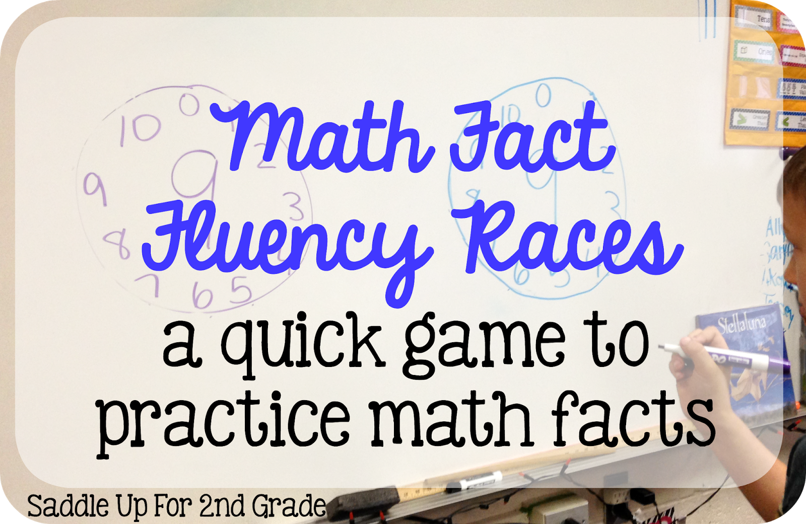 Who\'s Who and Who\'s New: Math Fact Fluency Races