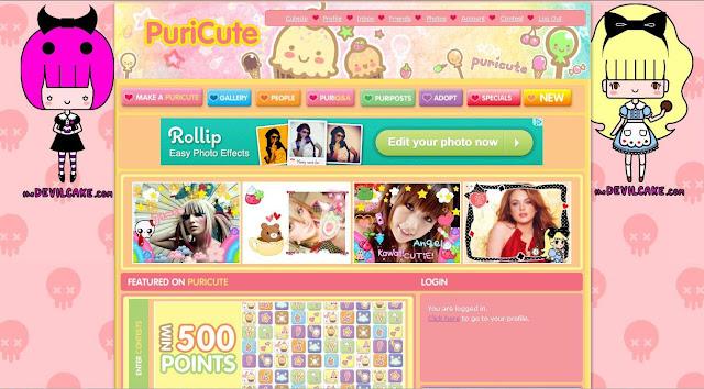 Online purikura maker