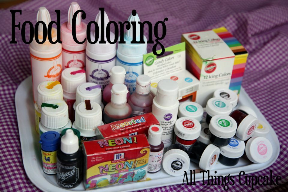 All Things Cupcake Indonesia: My Food Coloring Collection!