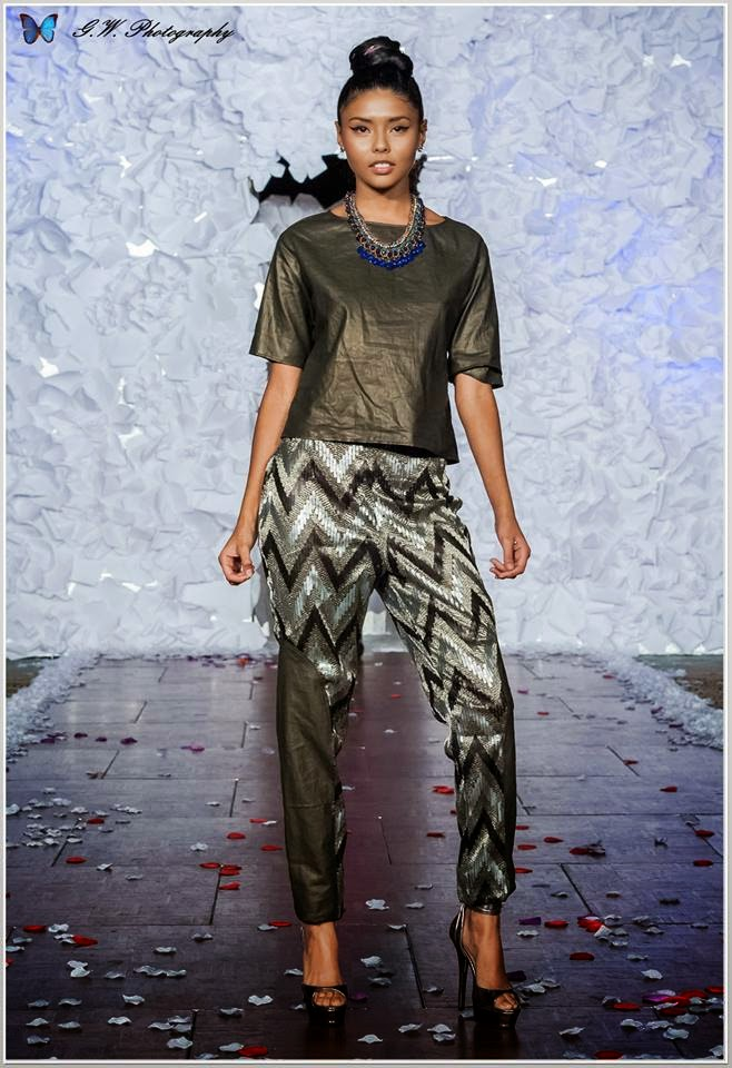 Designer Sophia Naz & Model Nicole Esparza