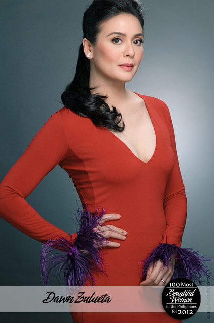 Dawn Zulueta is Most Beautiful Pinay for 2012 (photo via Starmometer)