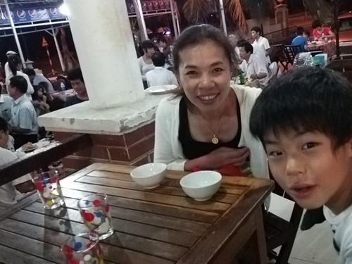 Lau Huyen 2 ダナンの海鮮料理店