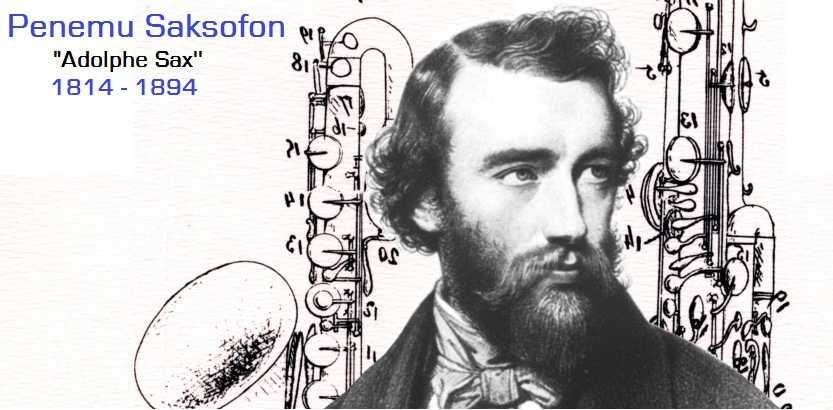 Adolphe SAX Menjadi Logo Google Di Ultah Ke 201 Penemu Alat Musik Saksofon