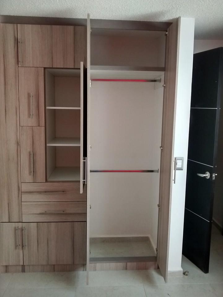 Closets y cocinas integrales residencial closet para for Disenos de closets para recamaras