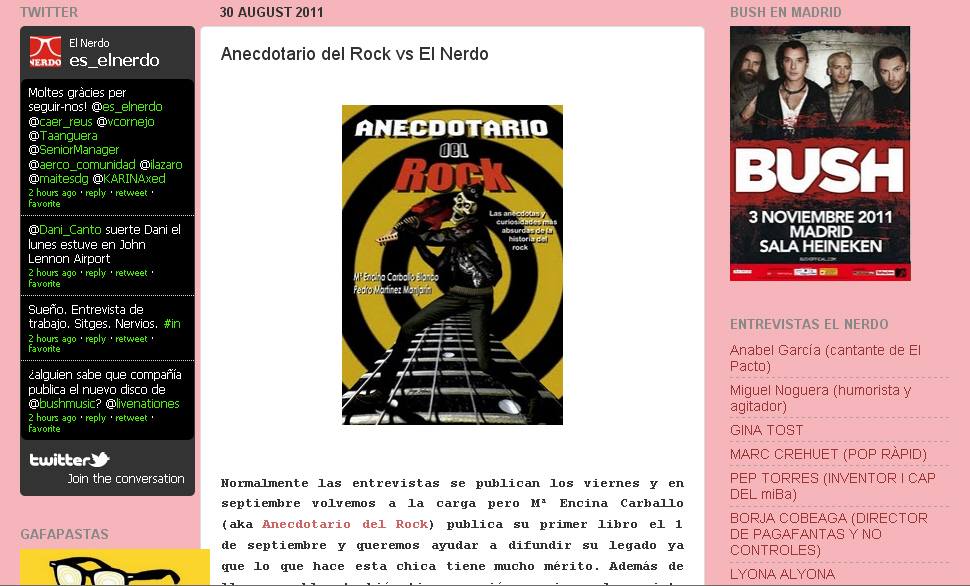 LIBRO ANECDOTARIO DEL ROCK EBOOK