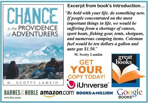 M. Scotty Lamkin&#39;s NEW Book NOW in MAJOR BOOKSTORES!