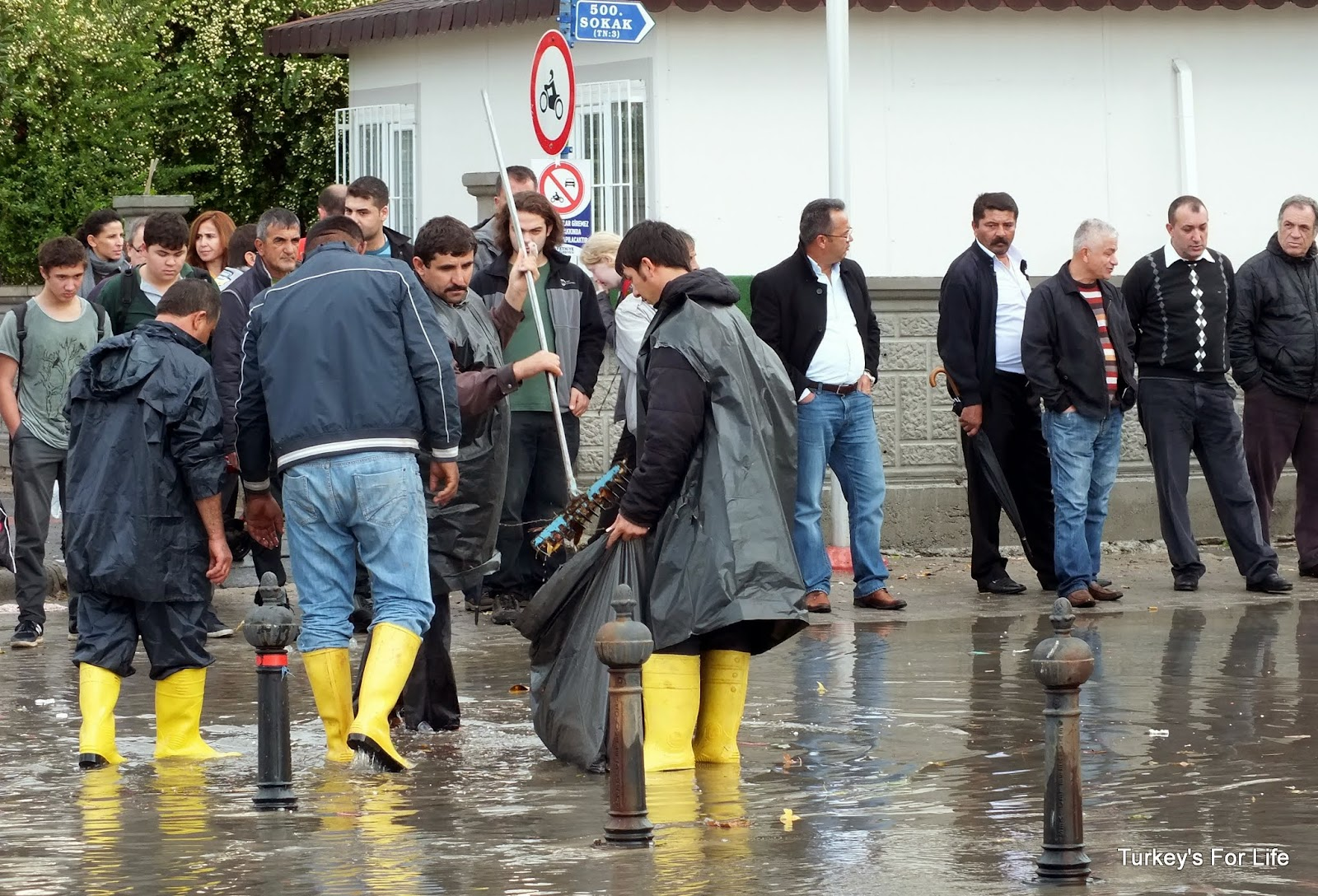 Flooding In Dispanser, Fethiye, Turkey