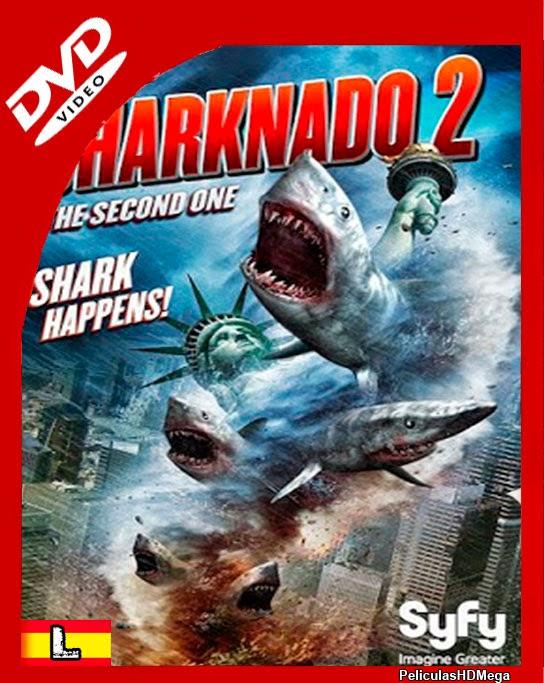 Tornado de Tiburones 2 El Segundo (2014) DVDrip Español Latino