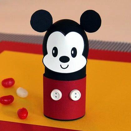Porta huevo Mickey