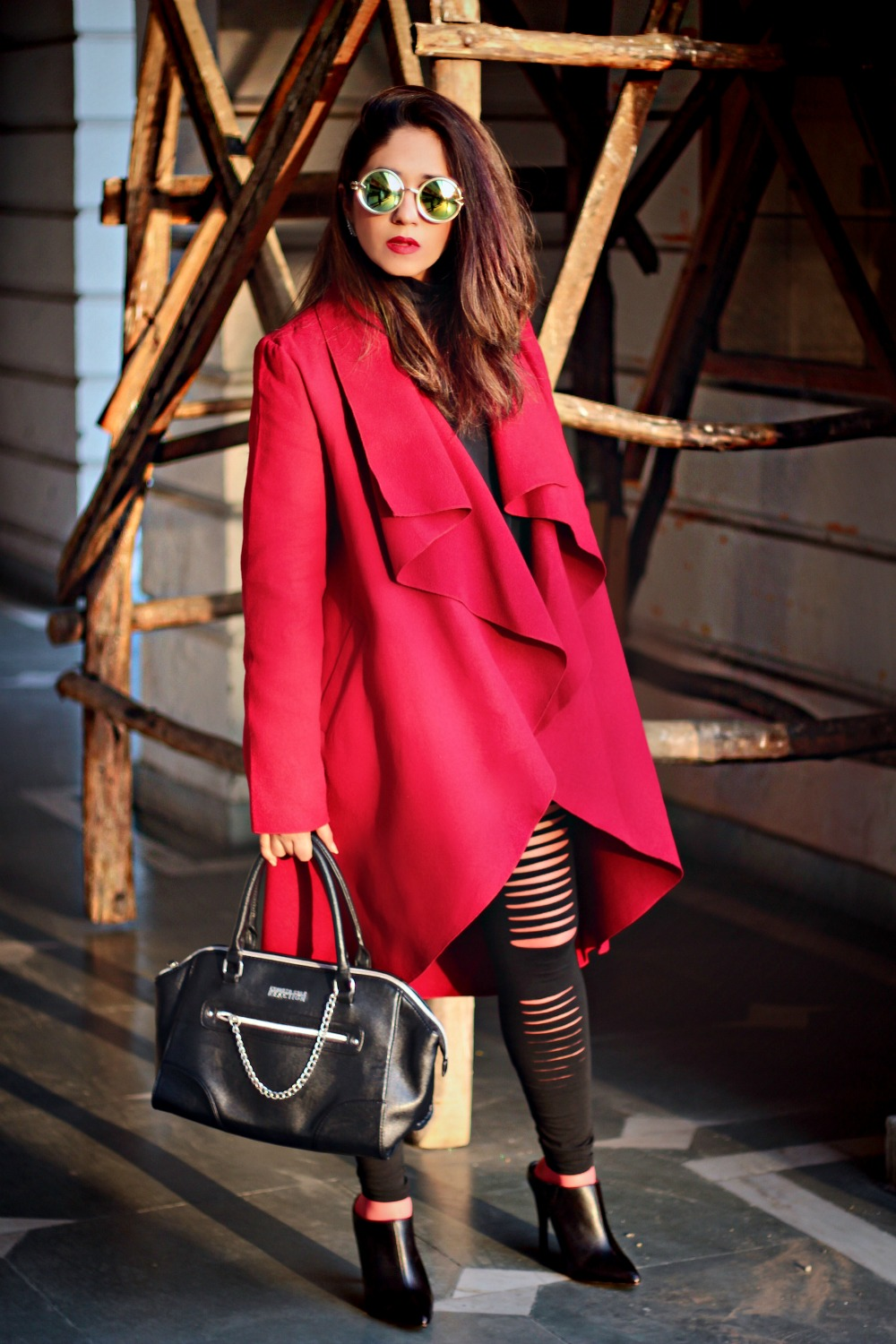 fashion blogger styles lookbook designer coats