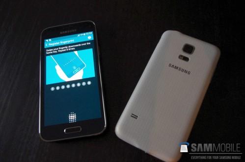Scanner per le impronte digitali anche sul Samsung Galaxy S5 Mini
