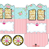 Pink Owls: Princess Carriage Shaped Free Printable Box.
