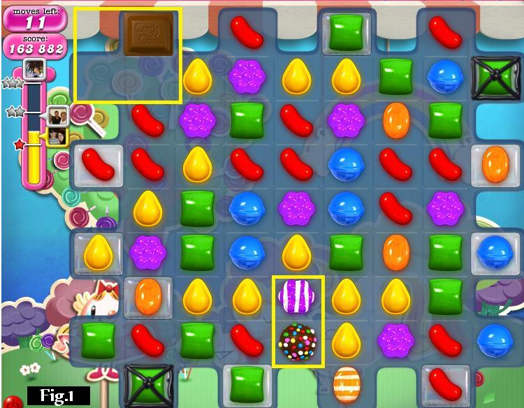 Candy Crush Saga LEVEL 65: Hints and Tips