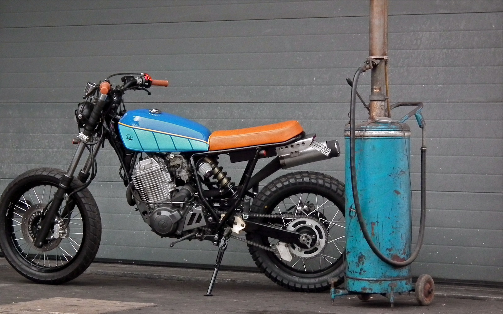 Yamaha Xt  Cafe Racer
