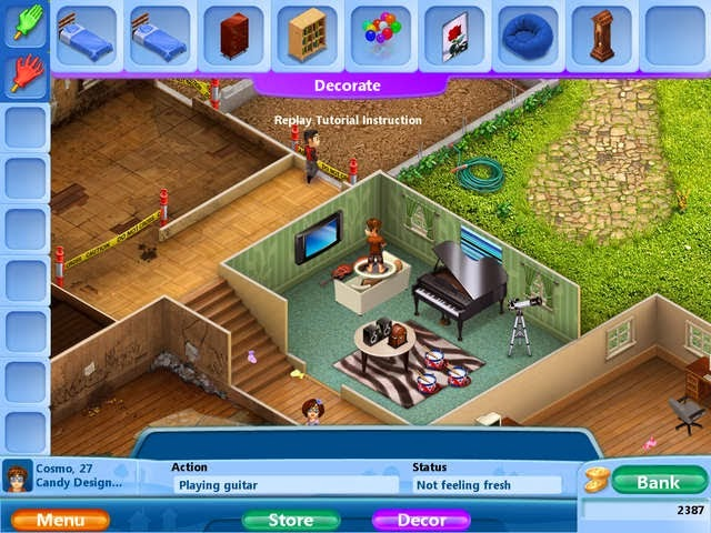 Virtual families 2 pc game free download full version for Virtual house walkthrough