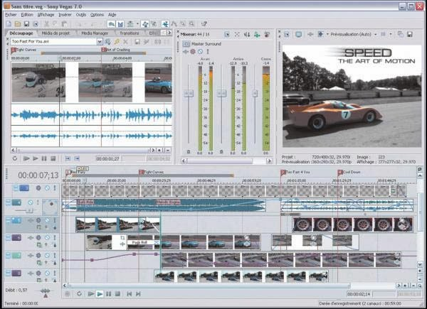 تحميل برنامج سوني فيغاس Sony Vegas pro 8