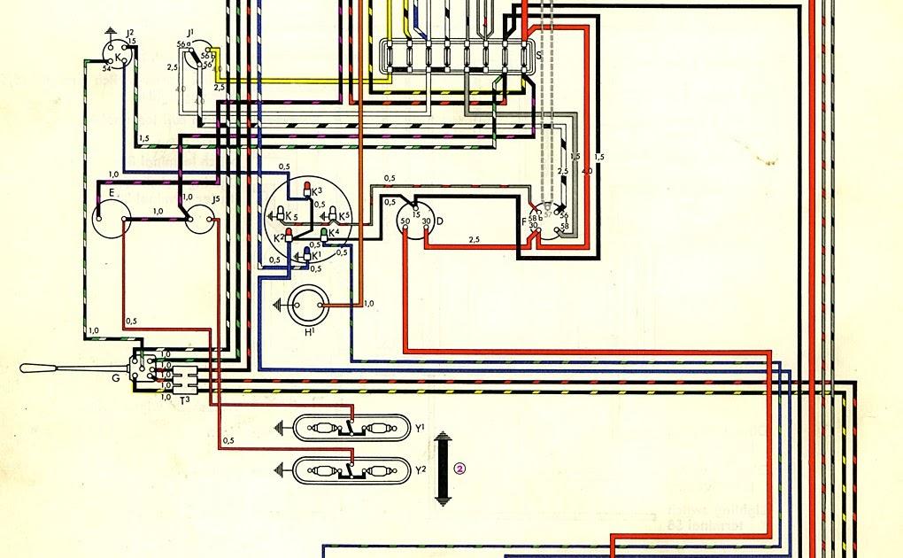 Garage 53  Esquema Eletrico Da Kombi At U00e9 61  62