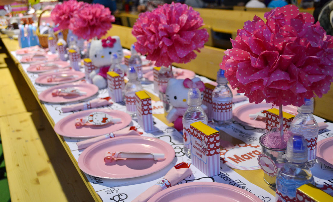 Sunny By Design Maras Hello Kitty Inspired 4th Birthday Party