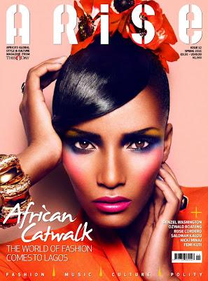 Rose Cordero en couv' d'Arise Magazine #12