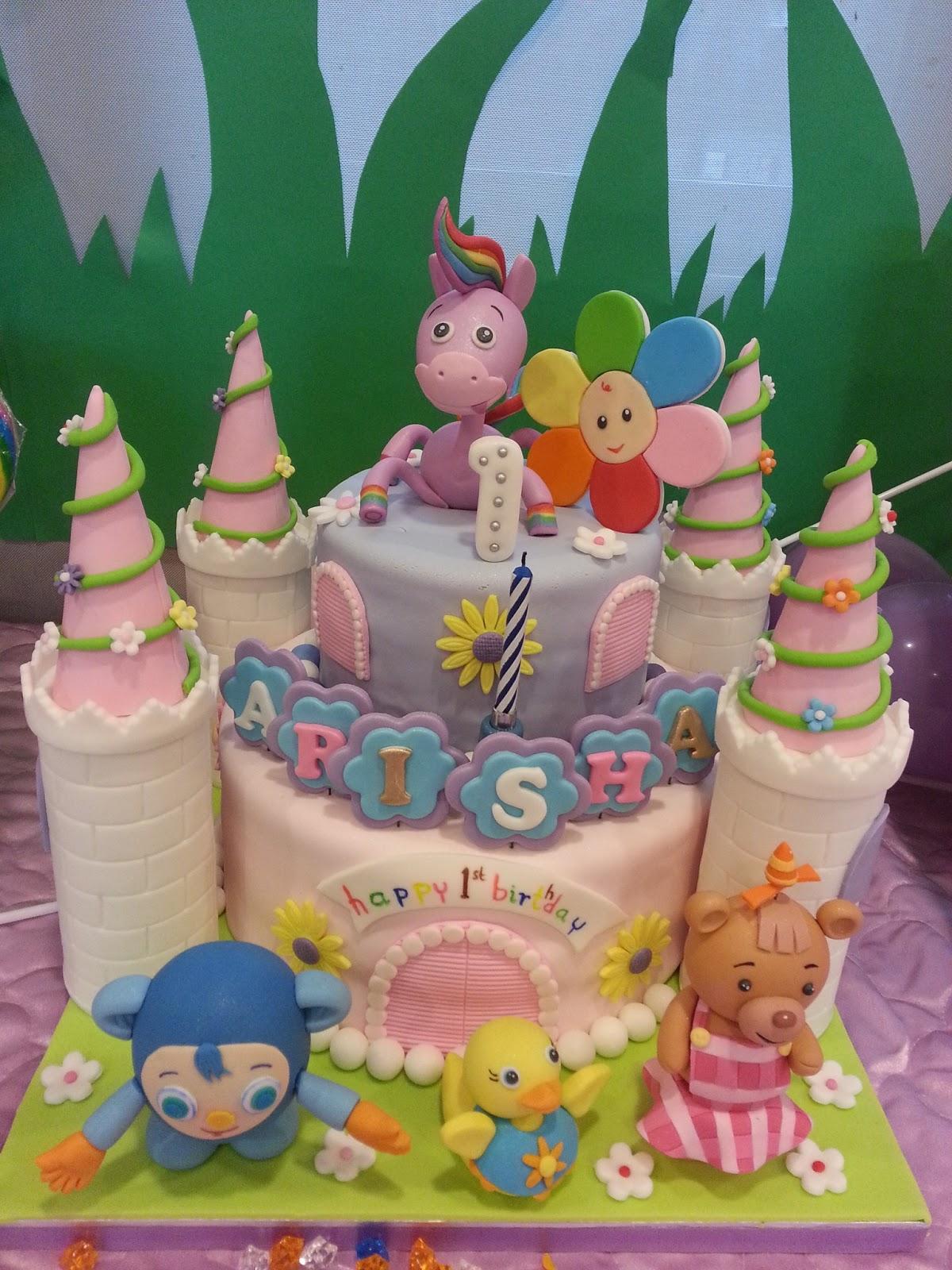 The Sensational Cakes Babyfirst Tv Casts Cake Singapore