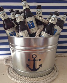 MW Coastal Goods nautical coasters and buckets