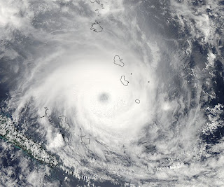 Satellitenbild Zyklon JASMINE als Major Hurrikan, NASA, Satellitenbild Satellitenbilder, major hurricane, Hurrikanfotos, aktuell, Februar, 2012, Jasmine,