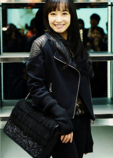 Victoria Song f(x) All Black Beauty