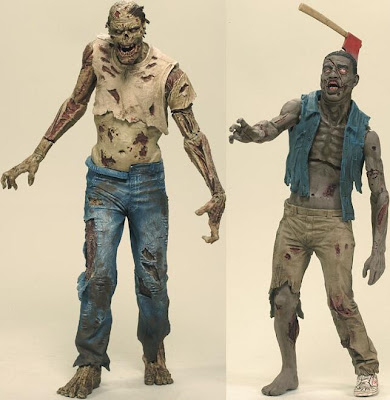 The Walking Dead Comic Book Series 1 - Zombie Lurker & Zombie Roamer Action Figures
