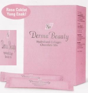 Derma Beauty Hydrolised Collagen: Wajah muda dan jelita, Kuku yang kuat, Rambut yang lebat dan sehat, Bentuk badan yang indah.