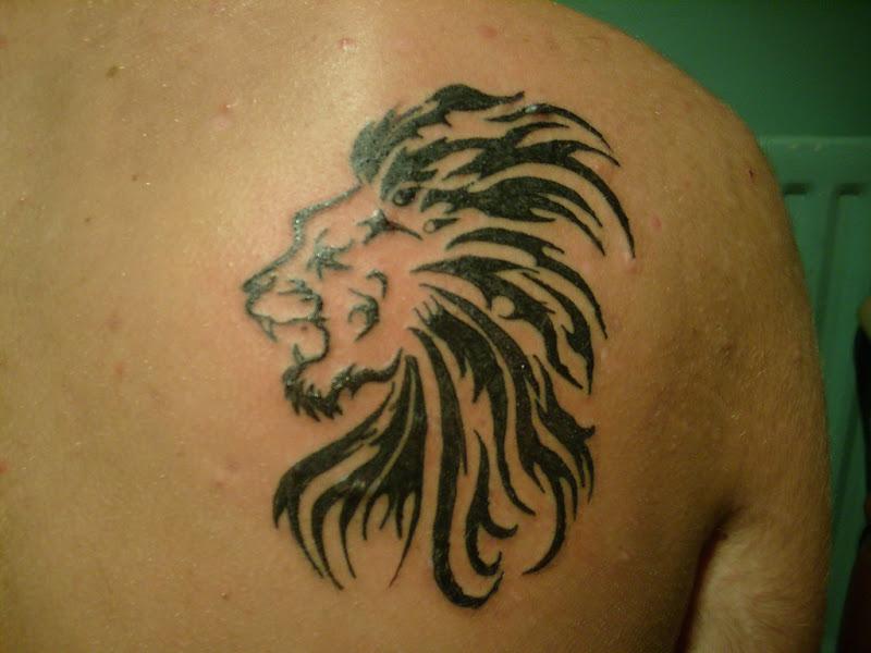 Lion Tattoos-Roaring Lion-Lion Of Judah title=